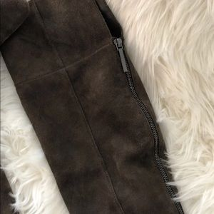 Dolce vita suede over the knee thigh high boots